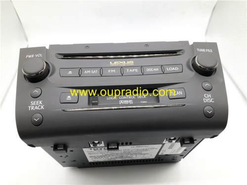 TOYOTA 86120-30F90 30A80 Pioneer 6CD Player car radio for 2008 2009 Lexus GS350 GS430 GS450H GS460 P6869 Cassette
