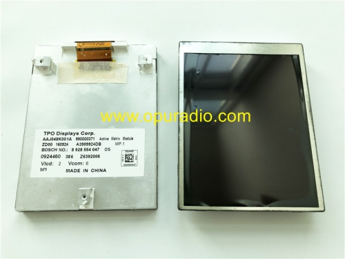 TPO Display AAJ048K001A Screen Monitor for BOSCH 7620000236 MB TCC MID Mercedes Benz Actros MP4 Radio A0004467662