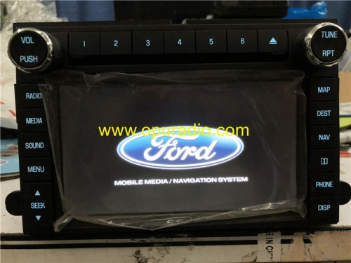 BC3T 18K931 Satellite Radio Audio UQW1273 for 2010 2011 Ford F250 F350 Car Navigation Media CD DVD Player MAP Sirius XM