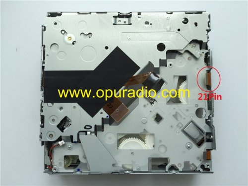 Mécanisme Matsushita 6 disques CD sans carte de circuit imprimé pour Panasonic Automotive Systems 8T1035110C pour changeur de CD Audi 8X0 035 110C A4