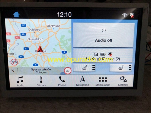 SYNC 3 APIM Module 1U5T-14G371-HDA FoMoCo for 17-19 Ford Focus KUGA S-MAX MONDEO car Navigation Maps F7 Europe Lincoln Mustang