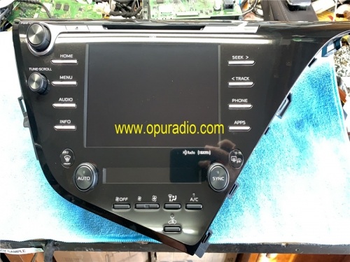86140-06870 86140-06890 06B40 for 2018-2019 Toyota Camry Receiver Radio Entune 3.0 Carplay