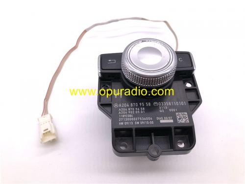 A2048709558 Controller Switch for 2008-2012 Mercedes Benz W212 W204 E C CLK GLK Class Comand Button Knob