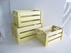 wood crate,gift basket,wood box,storage basket