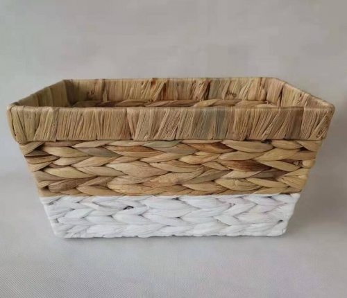 storage basket,gift basket,fruit basket,made of water hyacinth