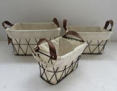 storage basket,wire basket,gift basket,fruit basket