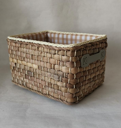 storage basket,gift basket,fruit basket,made of maize