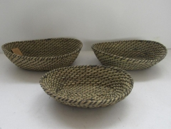 storage basket,fruit basket,made of grass,S/3