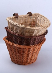 Wicker bicycle basket,bike basket