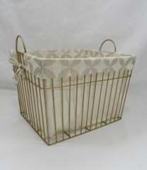 storage basket,gift basket,metal basket