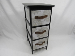 storage drawers,household storage container,made of wooden with fabric baskets