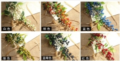 artificial flowers,artificial berry,6 colors