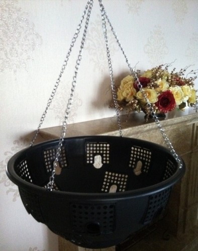 outdoor hanging basket,plastic hanging basket