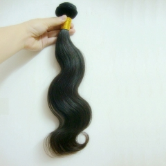 Peruvian Virgin Hair Weave Body Wave Natural Color 1 Bundle