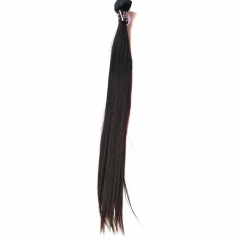 Peruvian Virgin Hair Weave Silky Straight Natural Color 1 Bundle