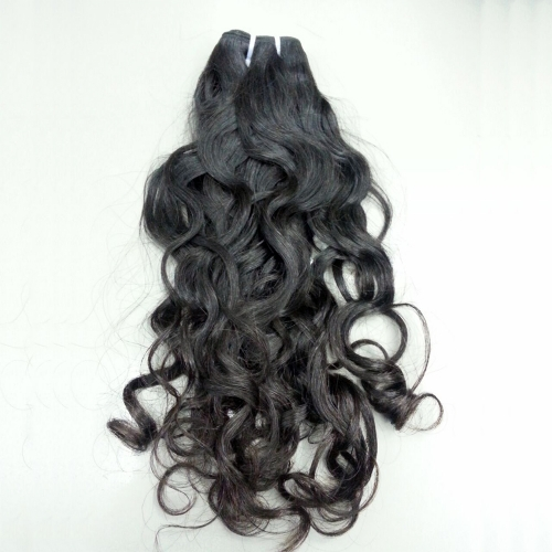 Brazilian Virgin Hair Weave Natural Wavy Natural Color 1 Bundle