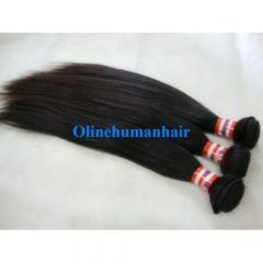 Malaysian Virgin Hair Weave Silky Straight Natural Color 1 Bundle