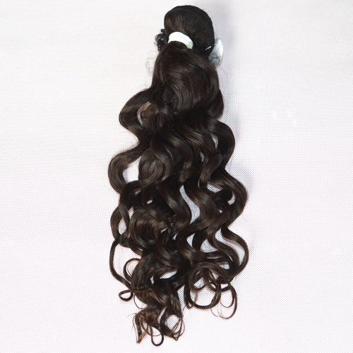 Peruvian Virgin Hair Weave Water Wave Natural Color 1 Bundle