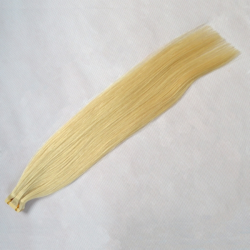 Tape In Hair Extensions Skin Weft Straight Light Blonde Color 60# 20pcs 40g/package
