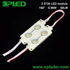 2 Chip 5730 lens led module