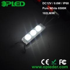 3 Chip 2835 lens led module IP67 12v