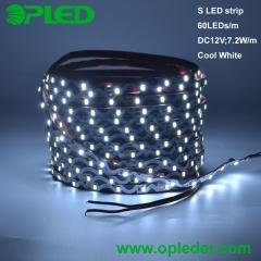 6mm width S LED strip 2835 IP20