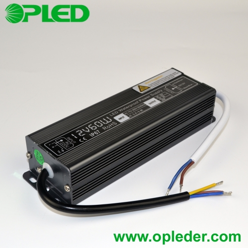 12V/24V 60W LED power supply IP67