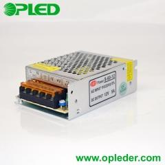12V/24V 60W LED power supply indoor