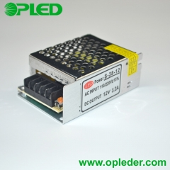 12V/24V 38W LED power supply indoor