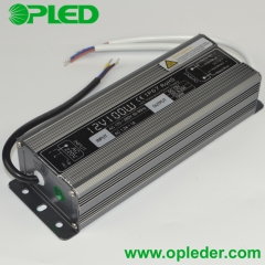 12V/24V 100W LED power supply IP67