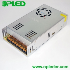 12V/24V 360W LED power supply indoor