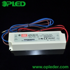 MEANWELL 36W LED power supply LPV-35