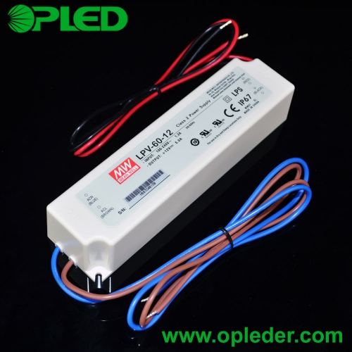 MEANWELL 60W LED power supply LPV-60