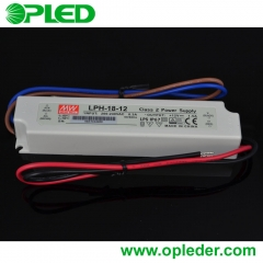 MEANWELL 18W LED power supply LPH-18