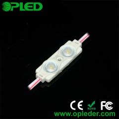 2 Chip 2835 lens led module 12v 0.72w