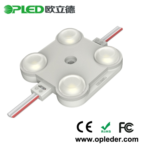 4 Chip 2835 lens led module IP67 12V 2.0W