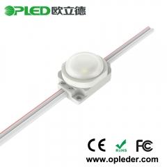 1 Chip 2835 lens led module IP67 12V 0.5W