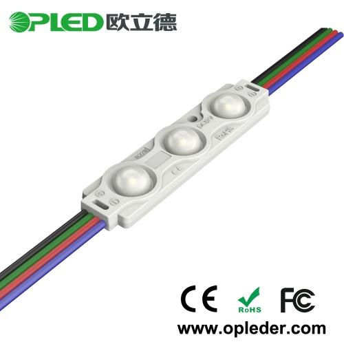 3 chip 5050 RGB LED module 0.72W