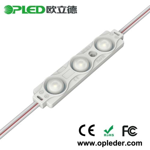 3 Chip 2835 lens led module 12v 0.72w
