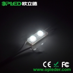 2 chips lens LED module for 3D letters DC12V 0.48W