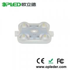 high efficiency 170LM/W 4 Chip 2835 lens led module IP67 12V 1.44W
