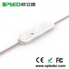 3 2835 lens LED module 24V white 7000K