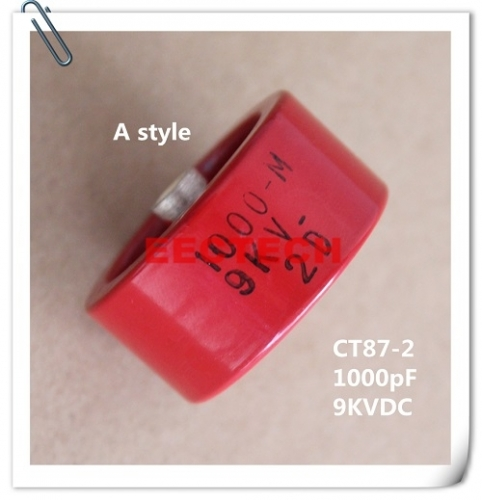 CT87-2 barrel-style ceramic capacitor