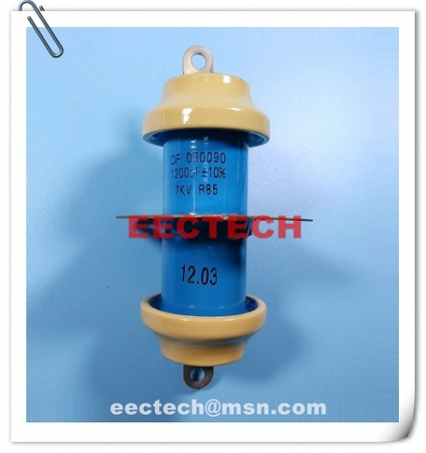 1200PF/7KV feed through capacitor equal to DF030090