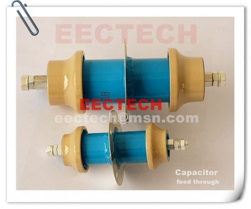 FT30100, 600PF/8KV feed through capacitor, equal to DB030100