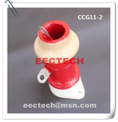 CCG11-2, 470pF, 5KVDC, pot type ceramic RF capacitor