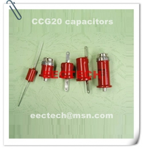 CCG20-4, 220PF or 270PF, 3KVDC, tube shape ceramic capacitor
