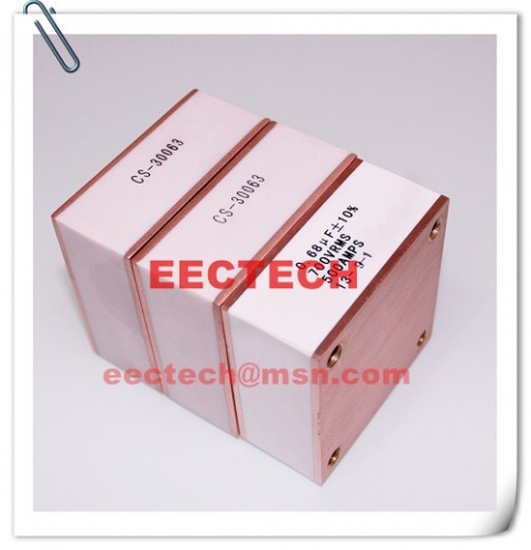 CS-30063, solid state high frequency film capacitor, 0.66uF, 650Vac