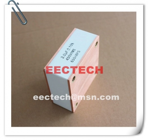 CBB90B, 3.0uF, 450V, 650A solid state high frequency film capacitor 3uF