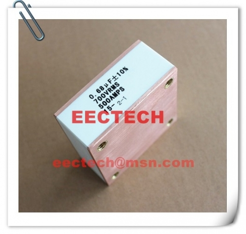 CBB90B, 0.68uF, 700V, 500A solid state high frequency film capacitor